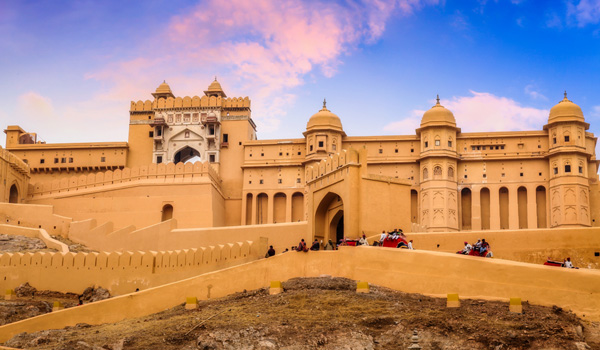 Amer Fort - best places for jaipur sightseeing