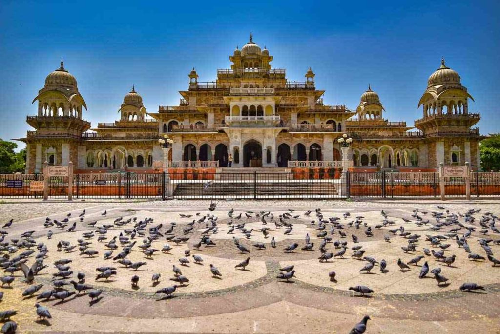 Albert hall - best places for jaipur sightseeing