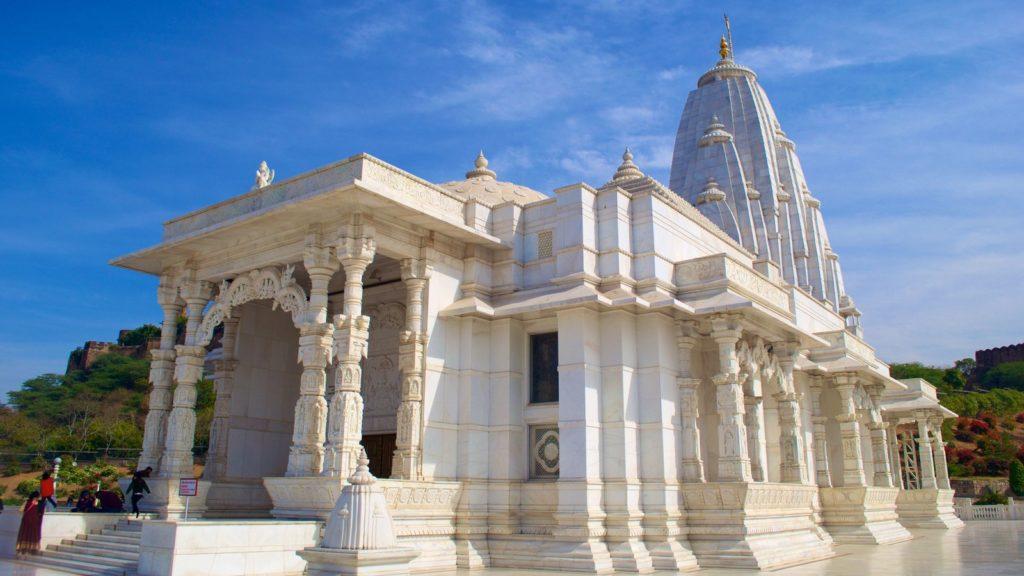 birla mandir - best places for jaipur sightseeing